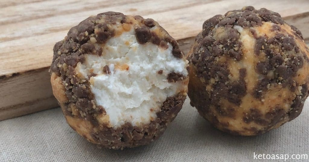 cheesecake coconut balls