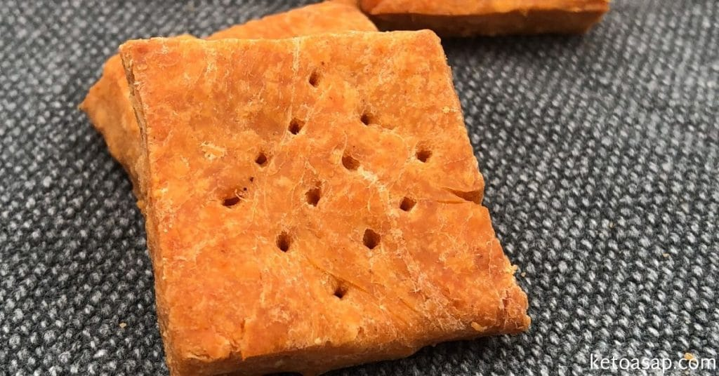 cheesy almond crackers