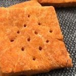 cheesy almond crackers