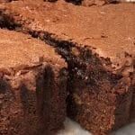 gooey chocolate peanut cake