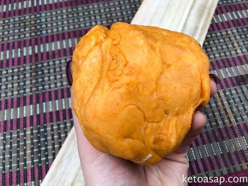knead crackers dough