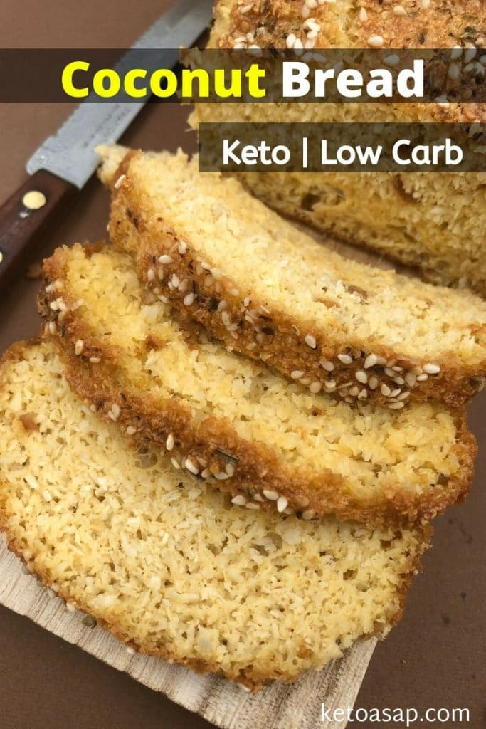 low carb coconut bread