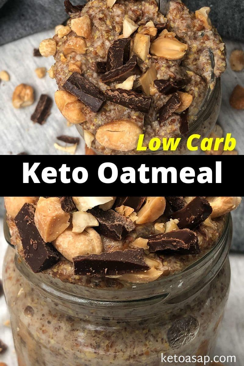 Keto Oatmeal for Breakfast