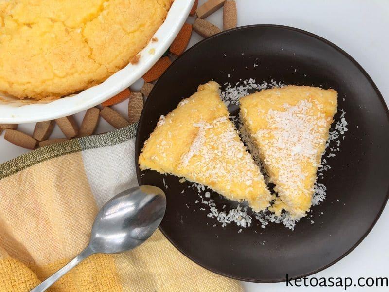 serve vanilla cake