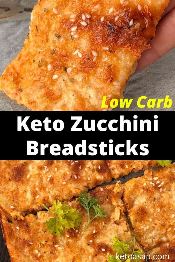 zucchini breadsticks recipe