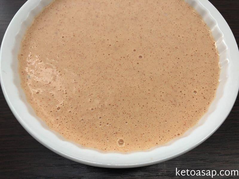 bake tuna cake mixture