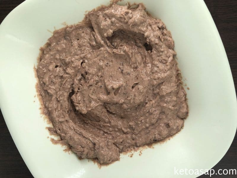 combine cream cocoa cheese cookie