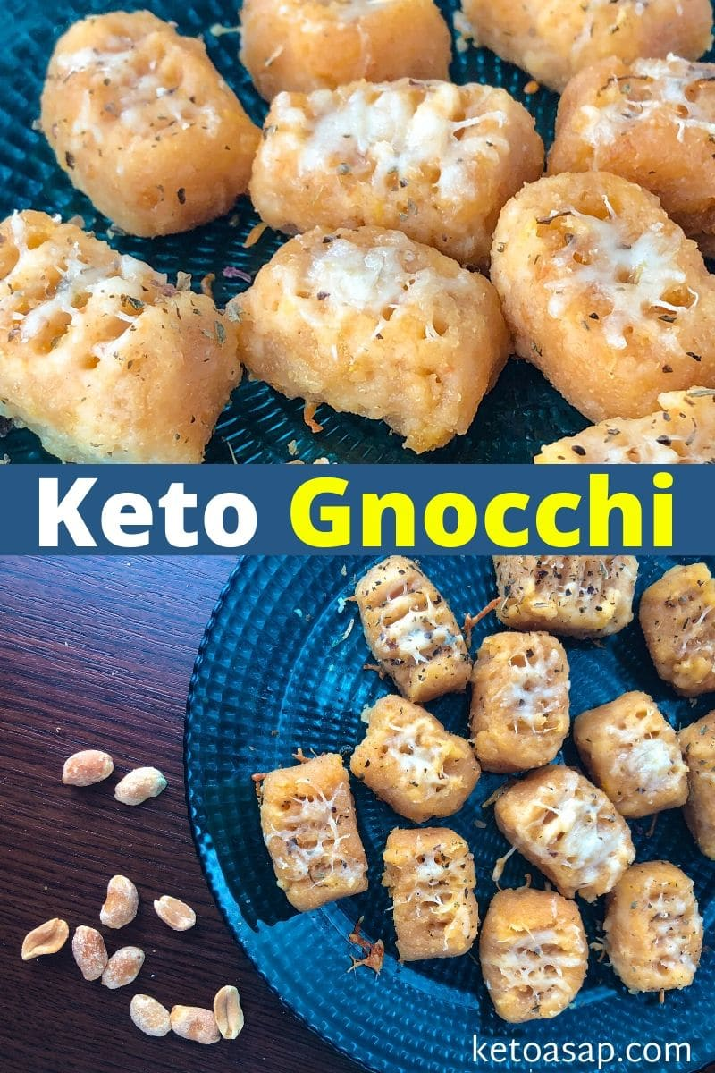 Cheesy Keto Gnocchi with Fathead Dough