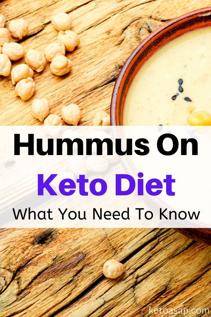 Hummus On The Keto Diet: What You Need To Know