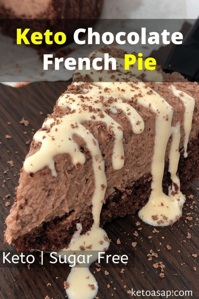 keto chocolate french pie