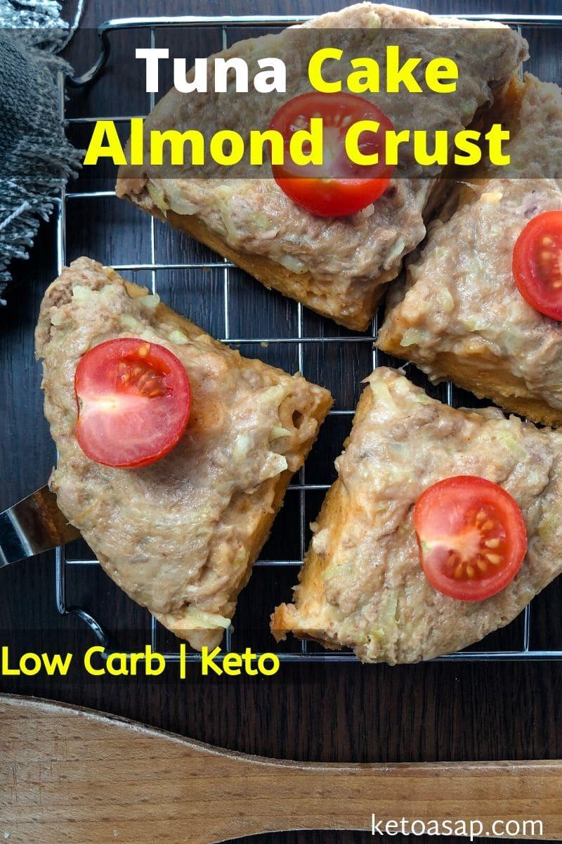 Keto Tuna Cakes with Almond Crust