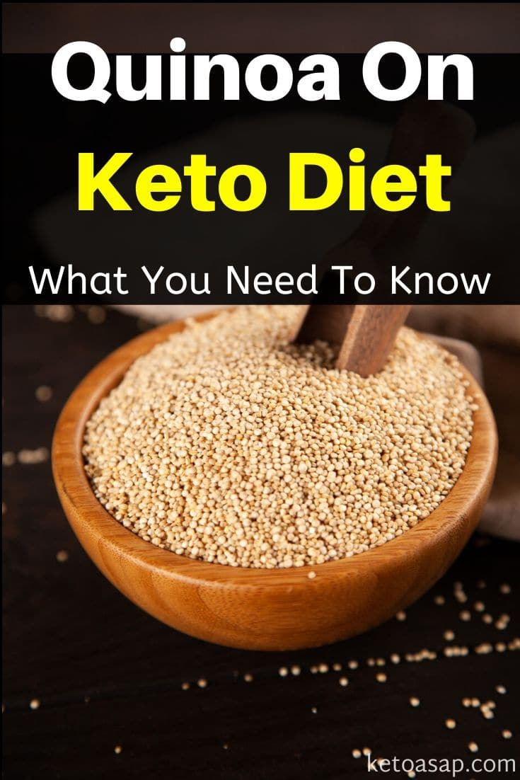 Quinoa On Low Carb Keto Diet: What You Need To Know