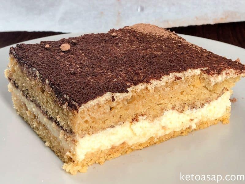 top tiramisu cocoa refrigerate