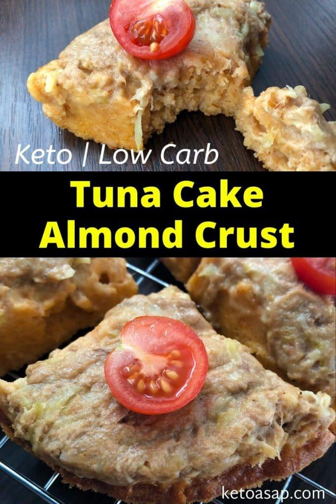 tuna cake almond crust recipe