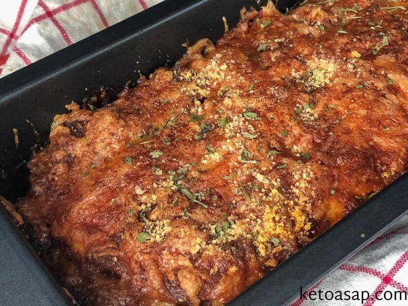 bake beef lasagna
