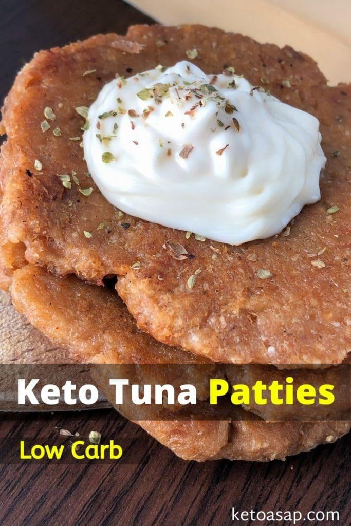 low carb tuna patties