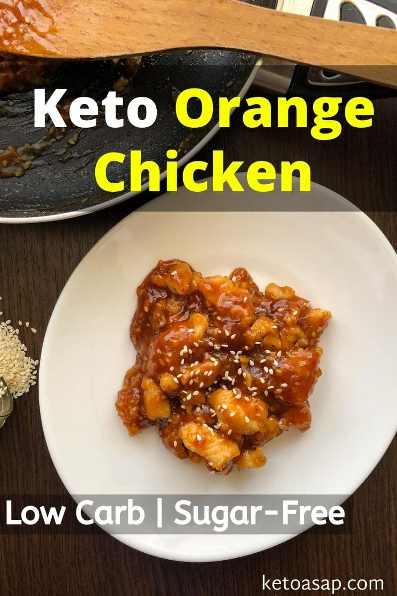 Keto Chinese Orange Chicken Low Carb Recipe