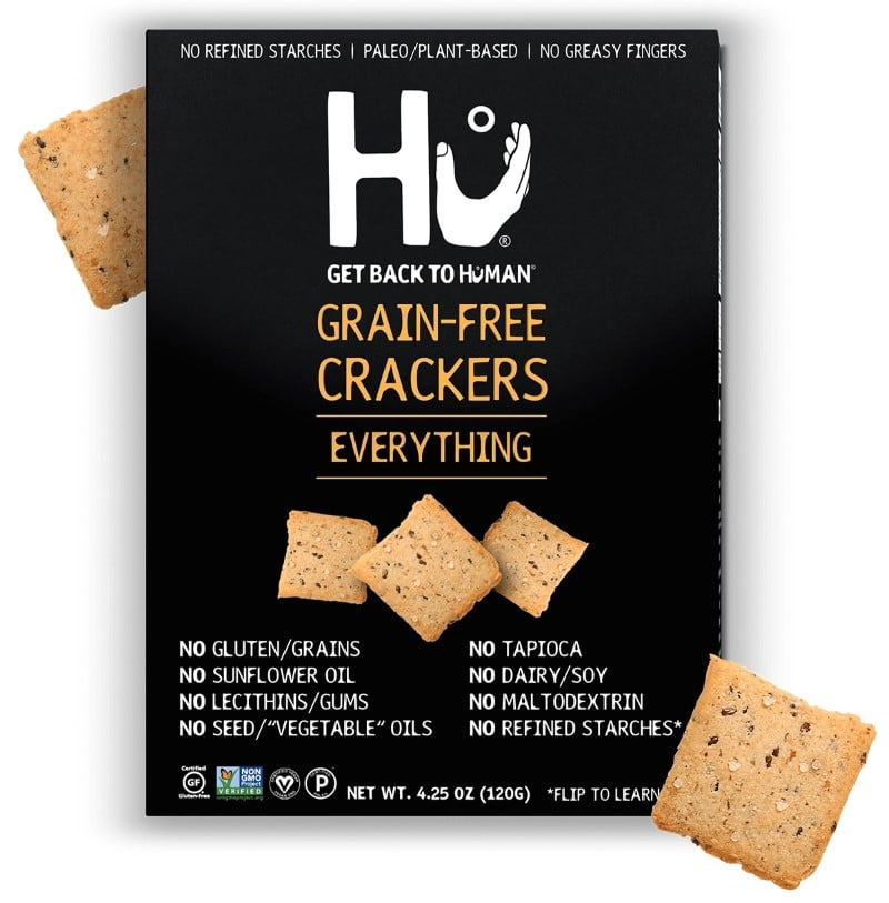 hu kitchen everything grain free crackers