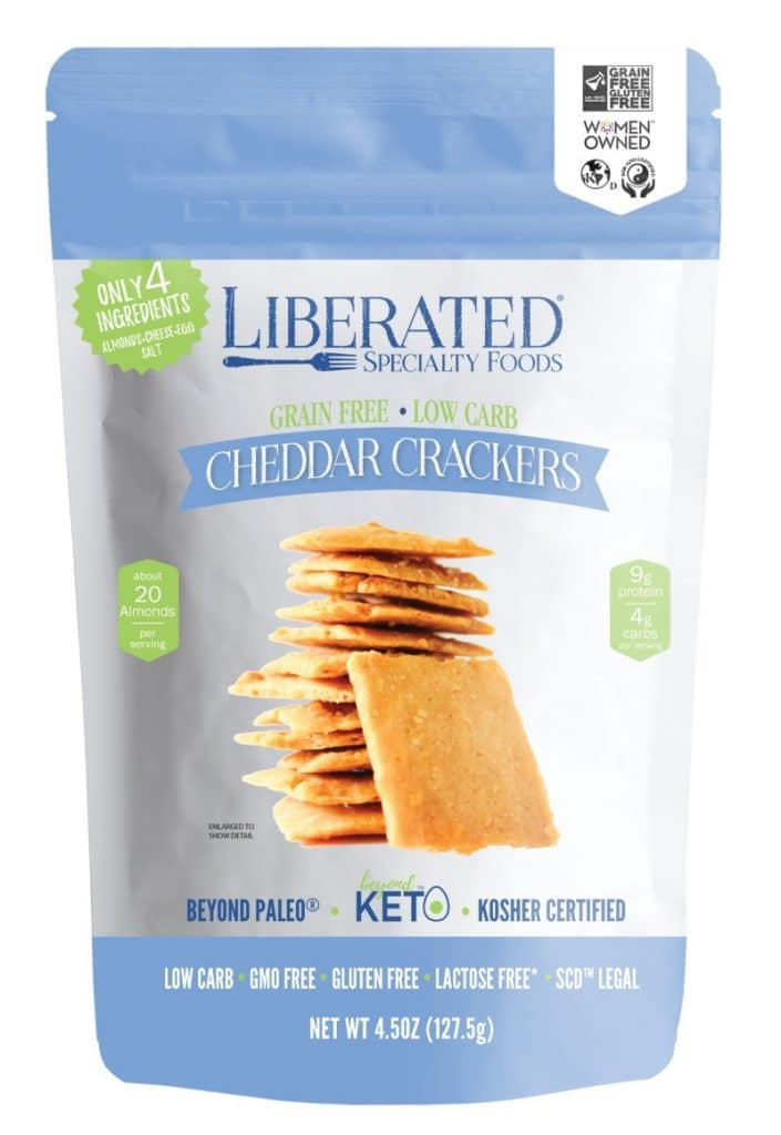 liberated cheddar crackers