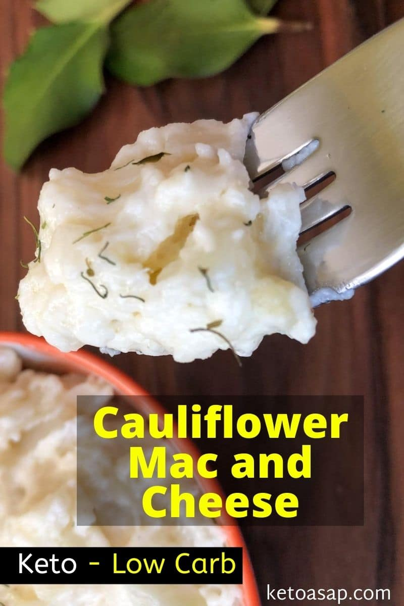 Keto Cauliflower Macaroni and Cheese Low Carb Recipe