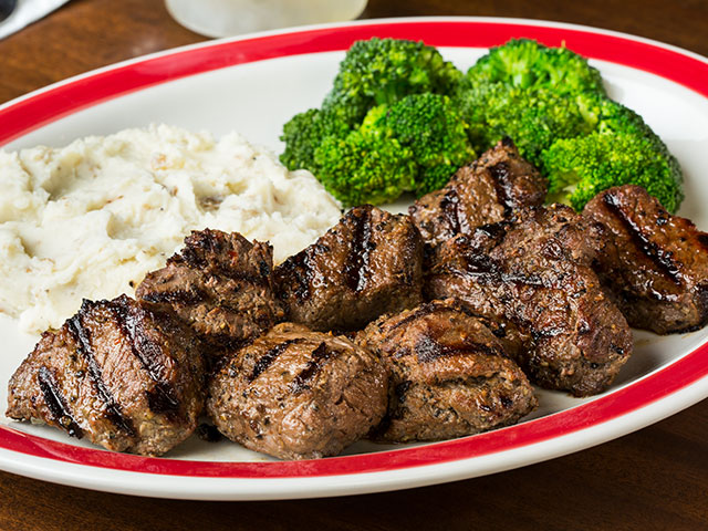 Broiled Sirloin Tips