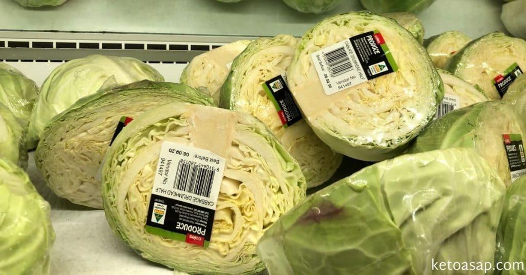 cabbage keto friendly