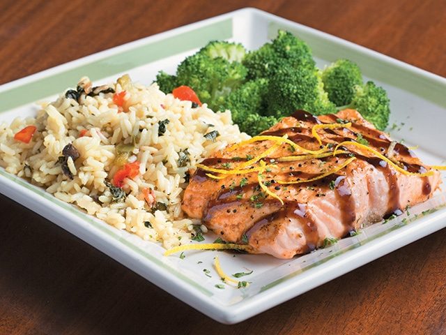Fresh Balsamic Salmon