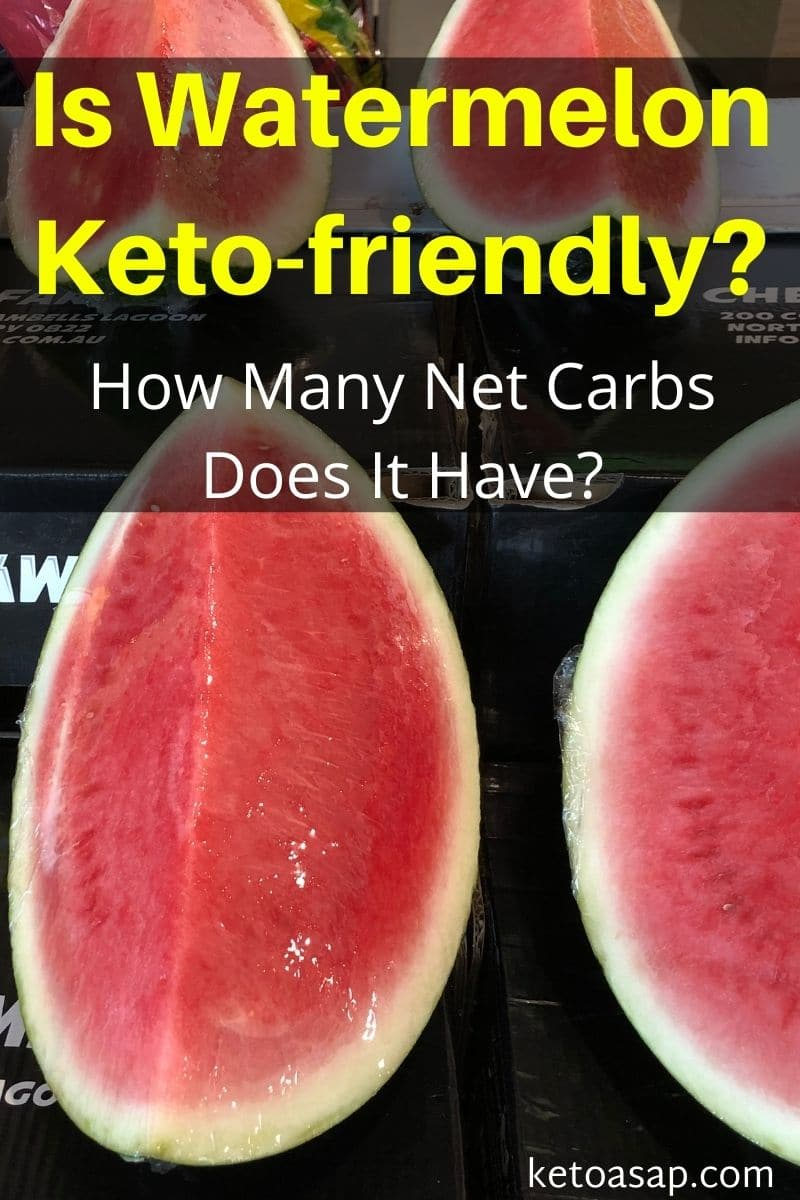 Watermelon On Low Carb Keto Diet: What You Need to Know
