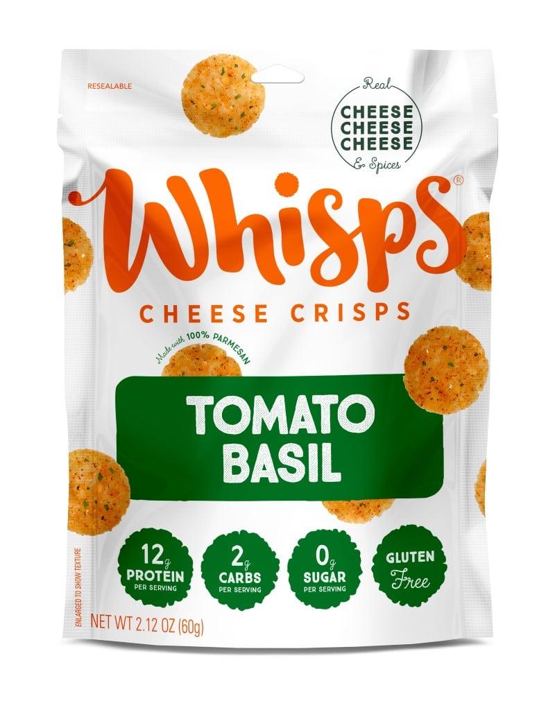 Whisps Tomato Basil Cheese Crisps