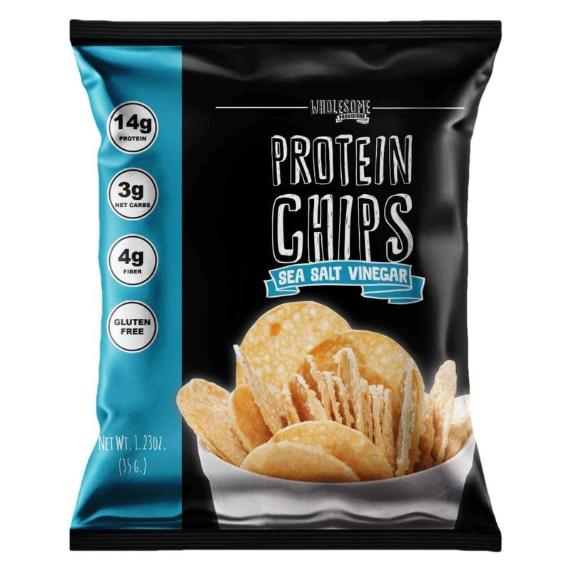 Wholesome Provisions protein chips