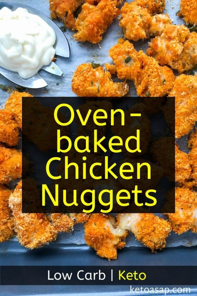 keto oven-baked chicken nuggets