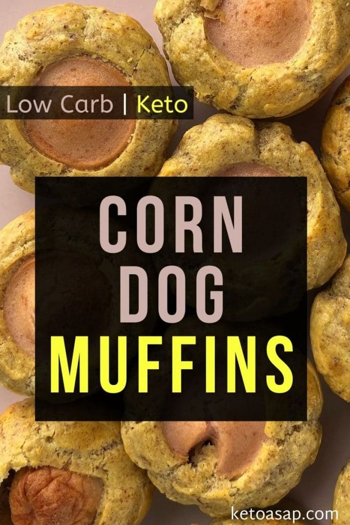 low carb corn dog muffins