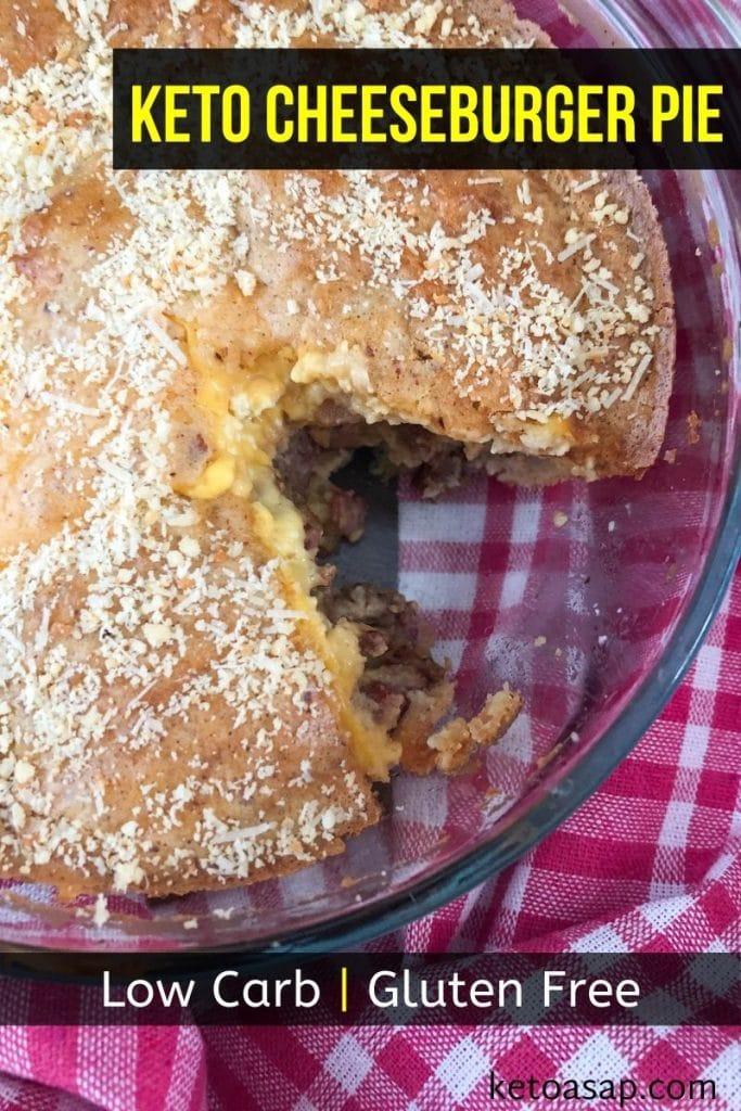 gluten free cheeseburger pie