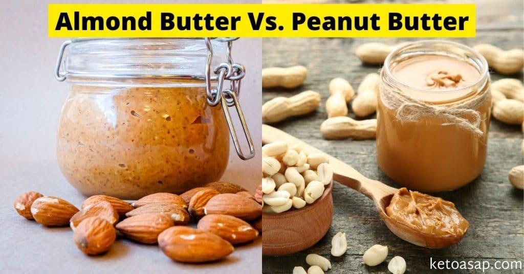 almond butter vs peanut butter
