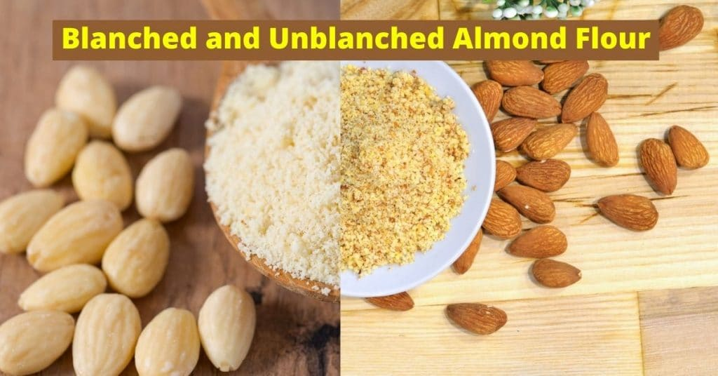 blanched almond flour vs unblanched