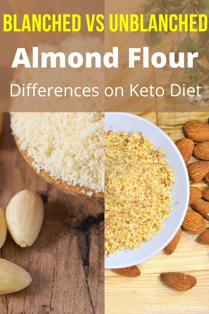 What Is The Difference Between Blanched and Unblanched Almond Flour On The Keto Diet?