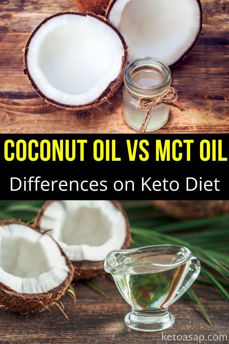 MCT Oil Vs Coconut Oil On The Keto Diet
