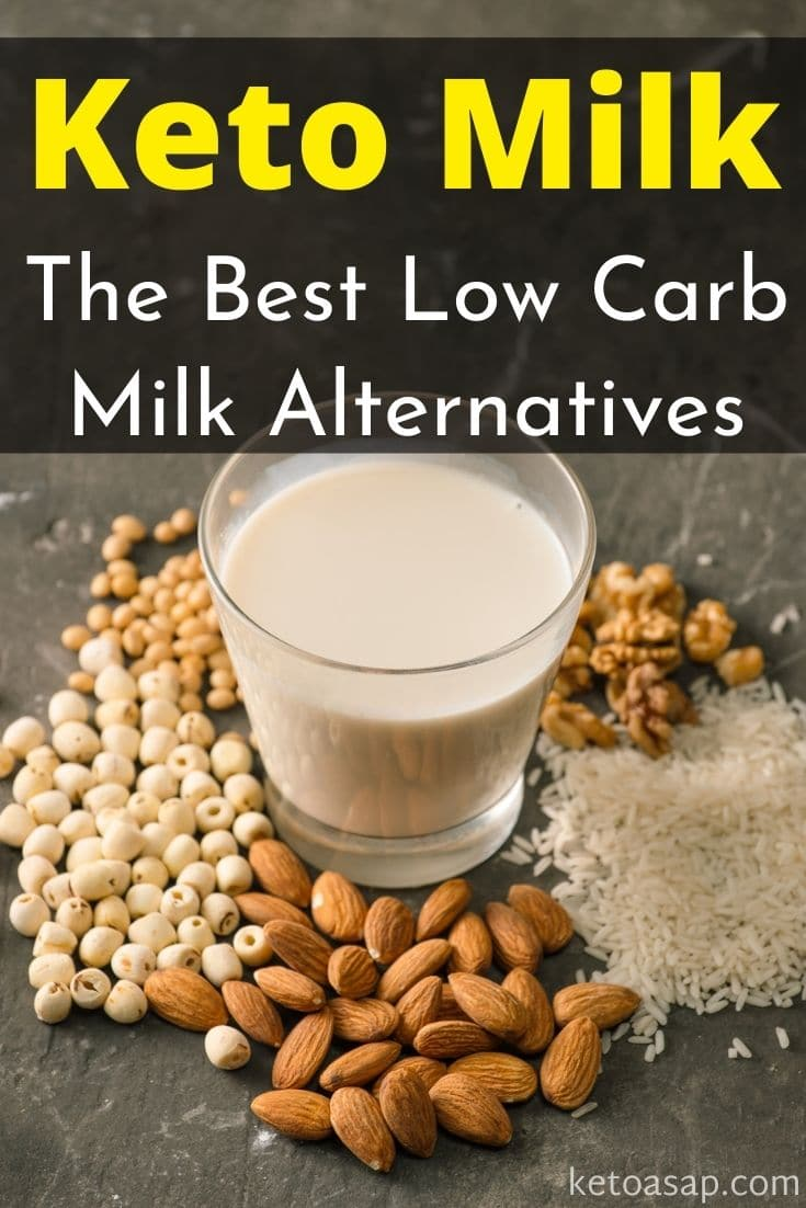 11 Best Low-Carb and Keto-Friendly Milk Substitutes