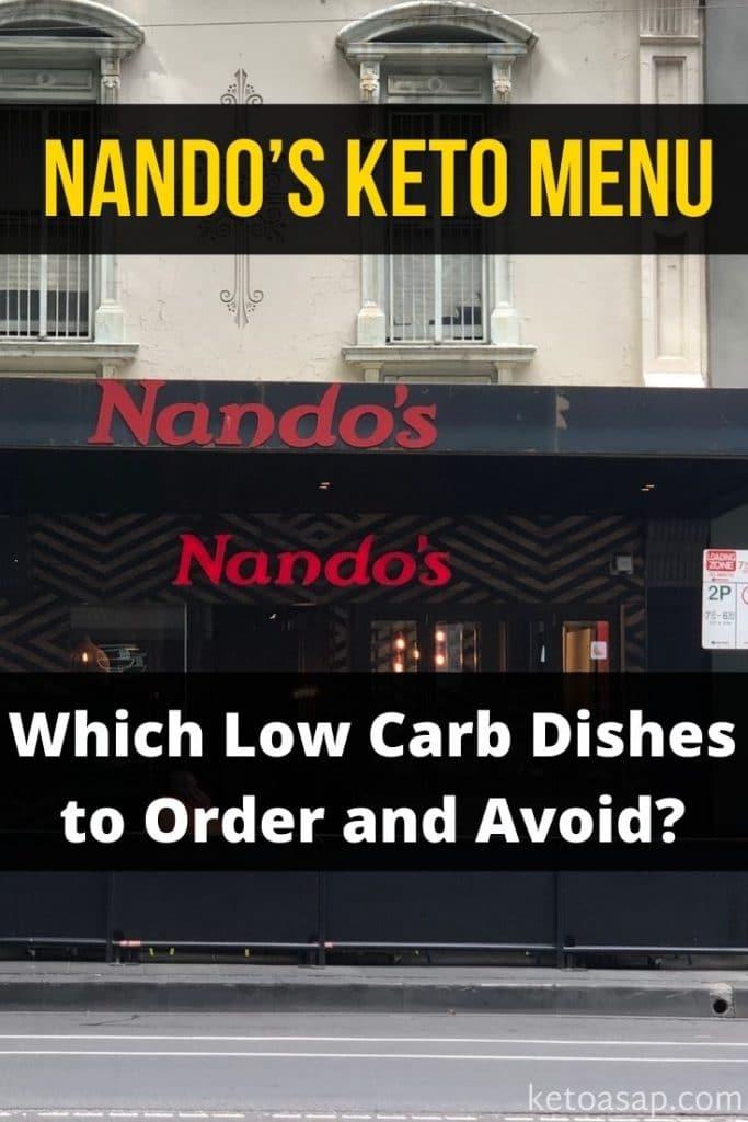 nandos low carb